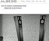 Albedo Audio mit neuer Website