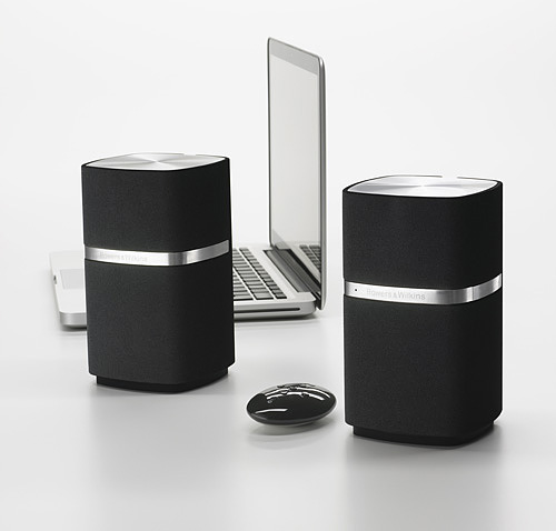 b w pr sentiert hifi pc lautsprecher im edlen design i. Black Bedroom Furniture Sets. Home Design Ideas