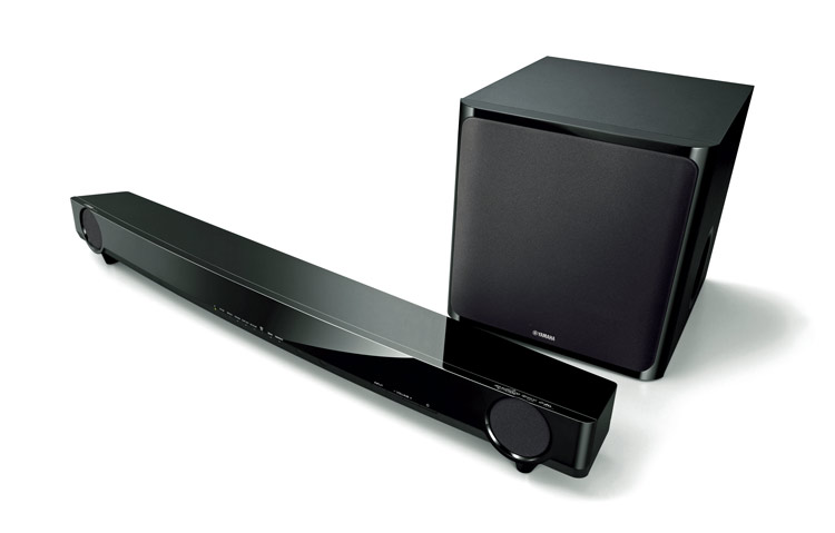 yamaha soundbars mit univolume technik i. Black Bedroom Furniture Sets. Home Design Ideas